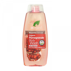 Dr Organic Pomegranate Bath And Shower Gel 250ml