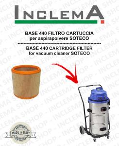 BASE 440 FILTRO CARTUCCIA per aspirapolvere SOTECO