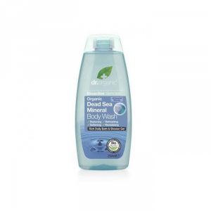 Dr Organic Dead Sea Mineral Bath And Shower Gel 250ml