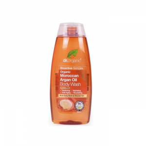 Dr Organic Moroccan Argan Oil Bath And Shower Gel 250ml