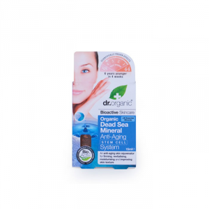 Dr Organic Dead Sea Mineral Anti Aging Stem Cell System 15ml