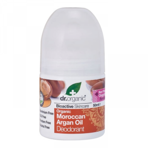 Dr Organic Moroccan Argan Oil Deodorant Roll On 50ml