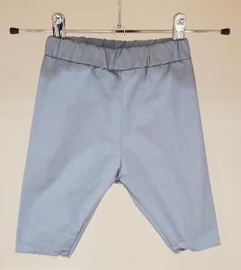 Pantalone celeste con vita elasticizzata, 3M-24M