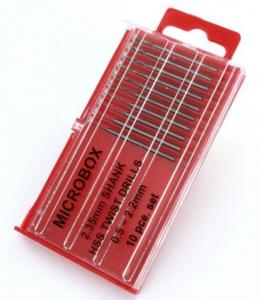 Microbox Shanked Drill Set