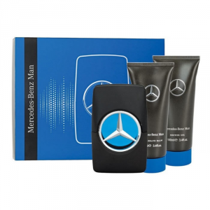 Mercedes Benz Man Eau De Toilette Spray 100ml Set 3 Parti 2019