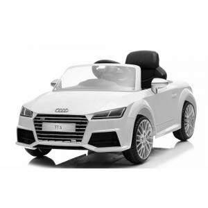 Auto Macchina Elettrica Per Bambini Audi TT S Bianca 12V
