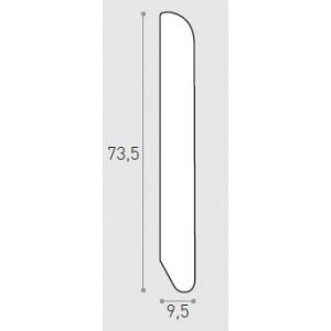 MM 75X10 ML 2.40 -  BATTISCOPA IMP. ROVERE
