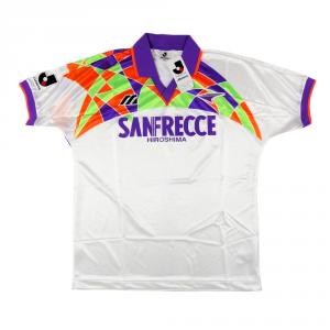 1993-95 Sanfrecce Hiroshima Maglia Away L *Nuova