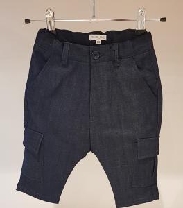 Jeans blu scuro con tasconi