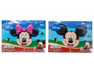 Pallone Mylar Minnie o Michey Mouse