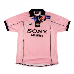 1997-98 Juventus Maglia Away Rosa Centenario  XL *Nuova