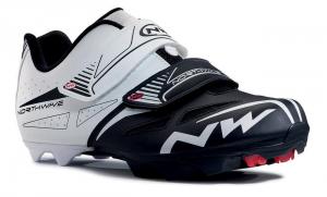 NORTHWAVE MTB Cycling Shoes SPIKE EVO white/black