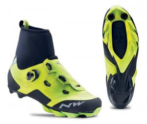 NORTHWAVE Winter MTB Shoes RAPTOR GTX yellow fluo/black