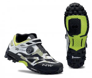 NORTHWAVE MTB AM Cycling Shoes ENDURO MID camouflage/white/black