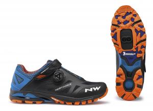 NORTHWAVE MTB AM Shoes Spider Plus 2 Black/Green/Orange