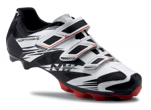NORTHWAVE MTB Cycling Shoes SCORPIUS 2 white/black/red