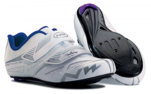 NORTHWAVE Womens Road Cycling Shoes ECLIPSE EVO white/grey