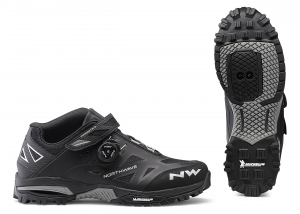 NORTHWAVE MTB AM Cycling Shoes Enduro Mid Color Black