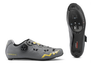 NORTHWAVE Road Cycling Shoes Extreme GT Anthra/Gold