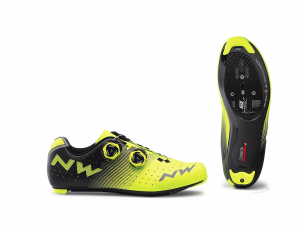 NORTHWAVE Road Cycling Shoes Revolution  Yellow Fluo/Blk