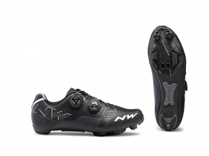 NORTHWAVE MTB Cycling Shoes Rebel Black/White