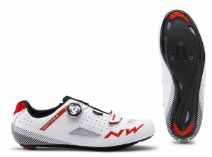 NORTHWAVE Road Cycling Shoes Core Plus White/Red
