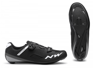 NORTHWAVE Road Cycling Shoes Core Plus Wide  Black