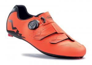 NORTHWAVE Road Cycling Shoes PHANTOM CARBON lobster orange/black