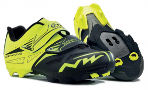 NORTHWAVE MTB Cycling Shoes SPIKE EVO fluo yellow/black