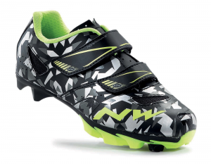 NORTHWAVE Junior MTB shoes HAMMER JR camouflage/fluo yellow