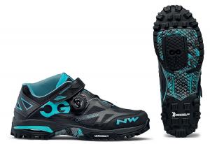 NORTHWAVE MTB Shoes Enduro Mid  Black/Aqua