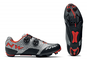 NORTHWAVE MTB Cycling Shoes REBEL grey/red