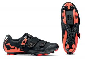 NORTHWAVE MTB Cycling Shoes SCREAM 2 SRS black/lobster orange