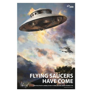 FLYING SAUCER ADAMSKI TYPE