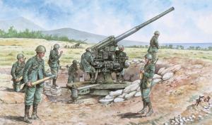 ITALIAN 90/53 GUN with CREW