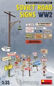 SOVIET ROAD SIGNS
