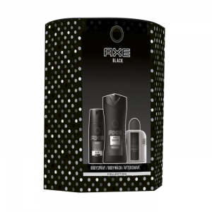 Axe Black Body Spray 150ml Set 3 Parti 2019
