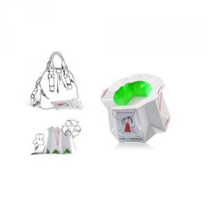 Vasino da viaggio usa e getta monouso biodegradabile Tron - Special Pack 10 pz