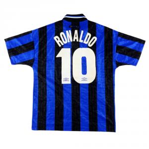 1997-98 Inter Maglia Home #10 Ronaldo M (Top)