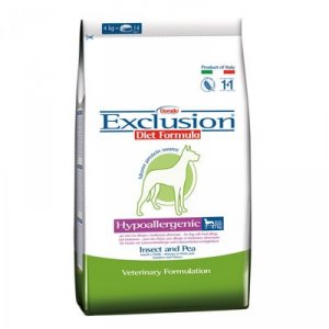 Sconto Exclusion Diet Hypoallergenic Small Breed Insetti e Piselli