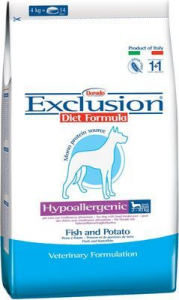 Exclusion Diet Hypoallergenic Small Breed Pesce e Patate