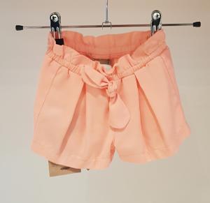 Pantaloncino rosa con fiocco