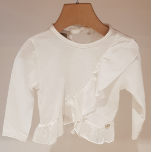 T-Shirt bianca con rouge