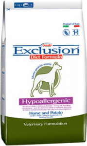 Exclusion Diet Hypoallergenic Medium/Large Breed Cavallo e Patate