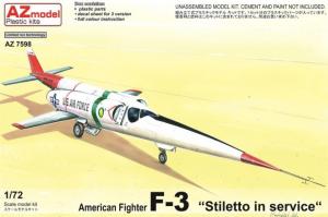 F-3 Stilleto in service