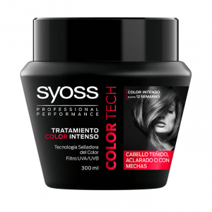 Syoss Intense Color Treatment Mask Color Tech Hair Dyed Or With Wicks 300ml