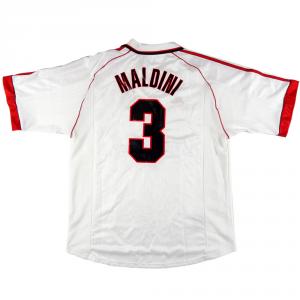 1998-99 Ac Milan Maglia Away #3 Maldini XL (Top)