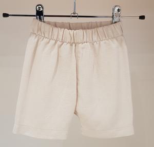 Pantaloncino beige basico