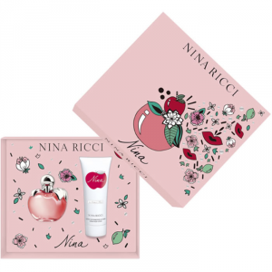 Nina Ricci Nina Eau De Toilette Spray 80ml Set 2 Parti 2019
