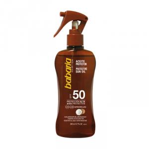 Babaria Coconut Protective Sun Oil Spf50 200ml